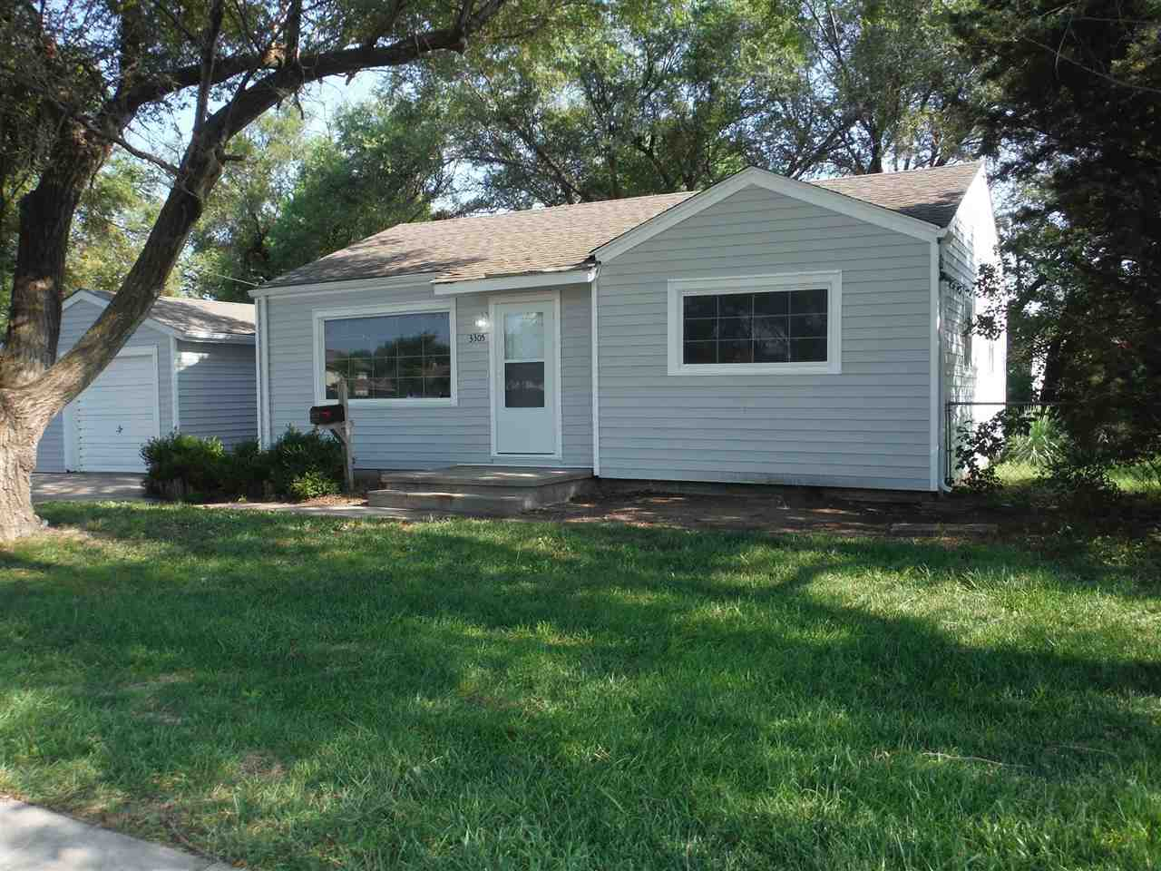 Freshly remodeled and updated 2 bedroom home with a 1-car garage. New granite in the kitchen with a