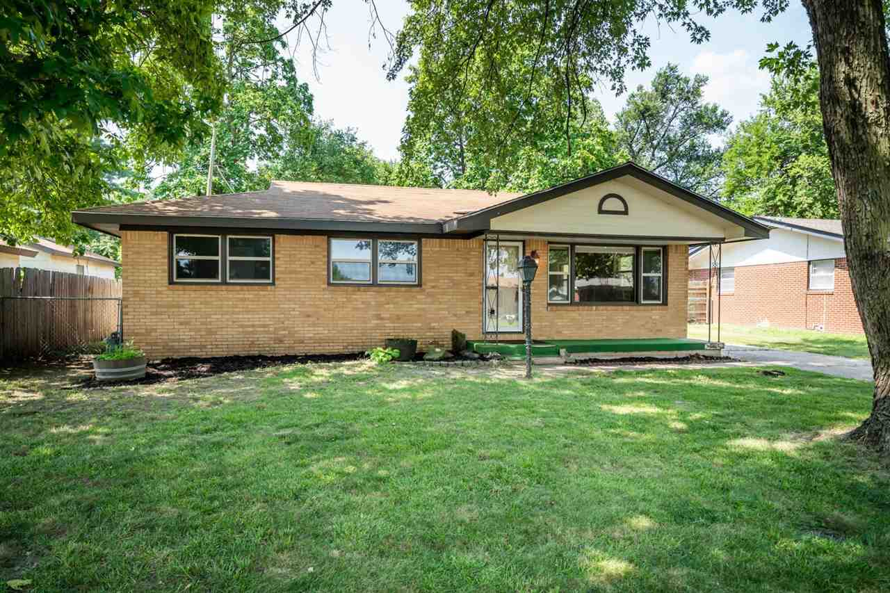 Come check out this newly renovated all-brick home in Haysville!  With three bedrooms, one bathroom,