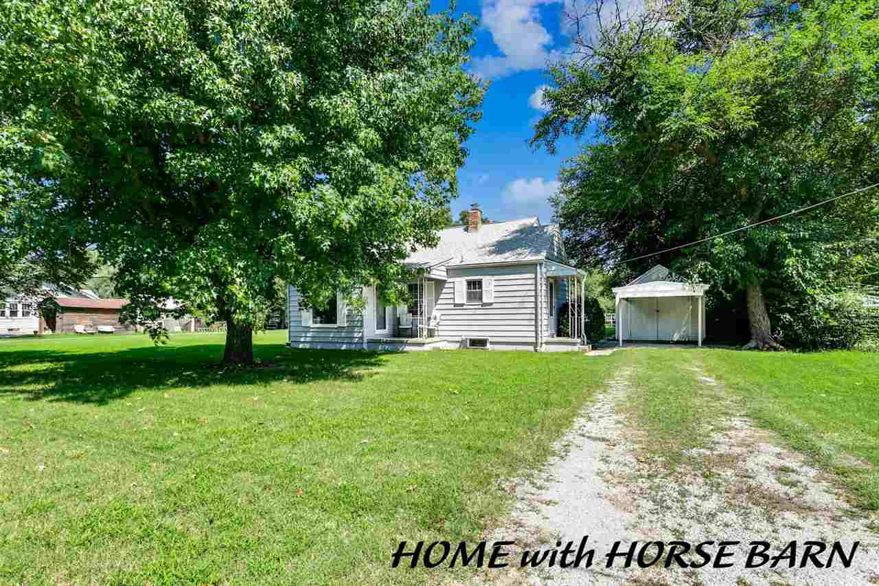 Welcome to this beautiful, newly remodeled home that sits on almost one acre located in North Wichit