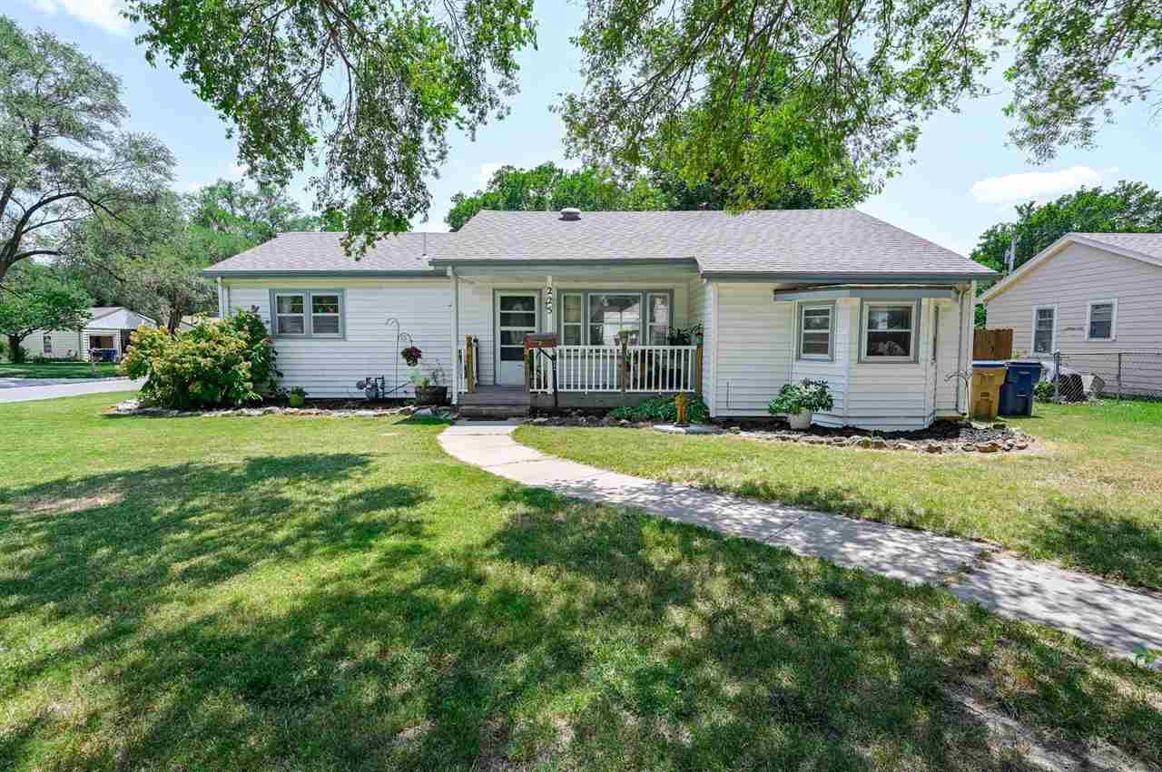 Take a look at this charming 3 bedroom, 1 1/2 bath home with large family room and 2 car detached ga