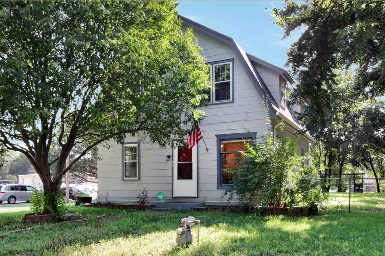 Welcome home to this absolutely adorable 1940s 2-story with tons of charm and updates. Original, ref
