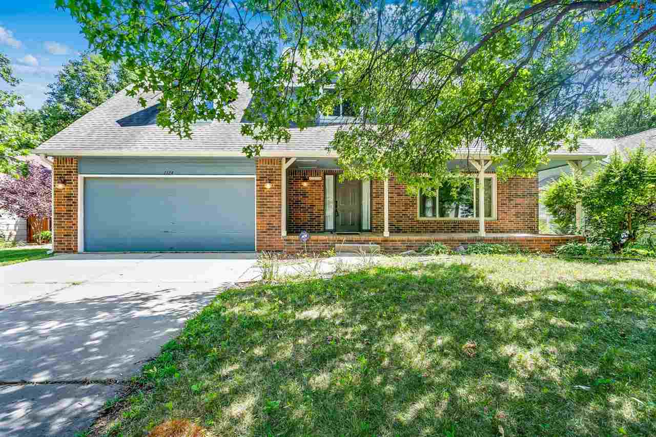Come check out this 2 story home located on a quiet cul-de-sac in west Wichita. Plenty of room to spread out inside and out. Generous sized living room opening right up into a formal dining room with lots of natural light. A large eat in kitchen with bar seating. 1/2 bath near the drop zone. Step outside to the covered patio and enjoy this large fenced back yard. There is even a matching shed and enough space to start your own garden. An over-sized two car garage - with lots of storage. The 2nd floor has large open bonus room, a cedar lined closet, and a 2nd floor laundry. Down the hall are 2 additional bedrooms and 1 full bath. Last but not least is the spacious 17x12 master retreat with windows galore, a large walk-in closet. The on-suite has a double vanity and a large shower and water closet. The basement has an enormous family room/recroom, large storage/utility closet. The 4th BR has a daylight window with over-sized closet.Upgrades/Updates/Amenities: No specials, Low HOA's, bamboo flooring on the main, wood tile in the basement, upgraded windows, sprinkler system and so much more. ALL APPLIANCES STAY - STOVE, REFRIGERATOR, DISHWASHER Call today for your private showing.
