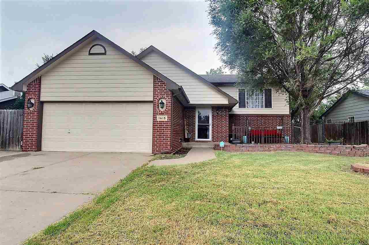 Goddard Schools; Wichita Address!  This 4-bed, 3-bath home is situated on a quiet cul-de-sac, and lo