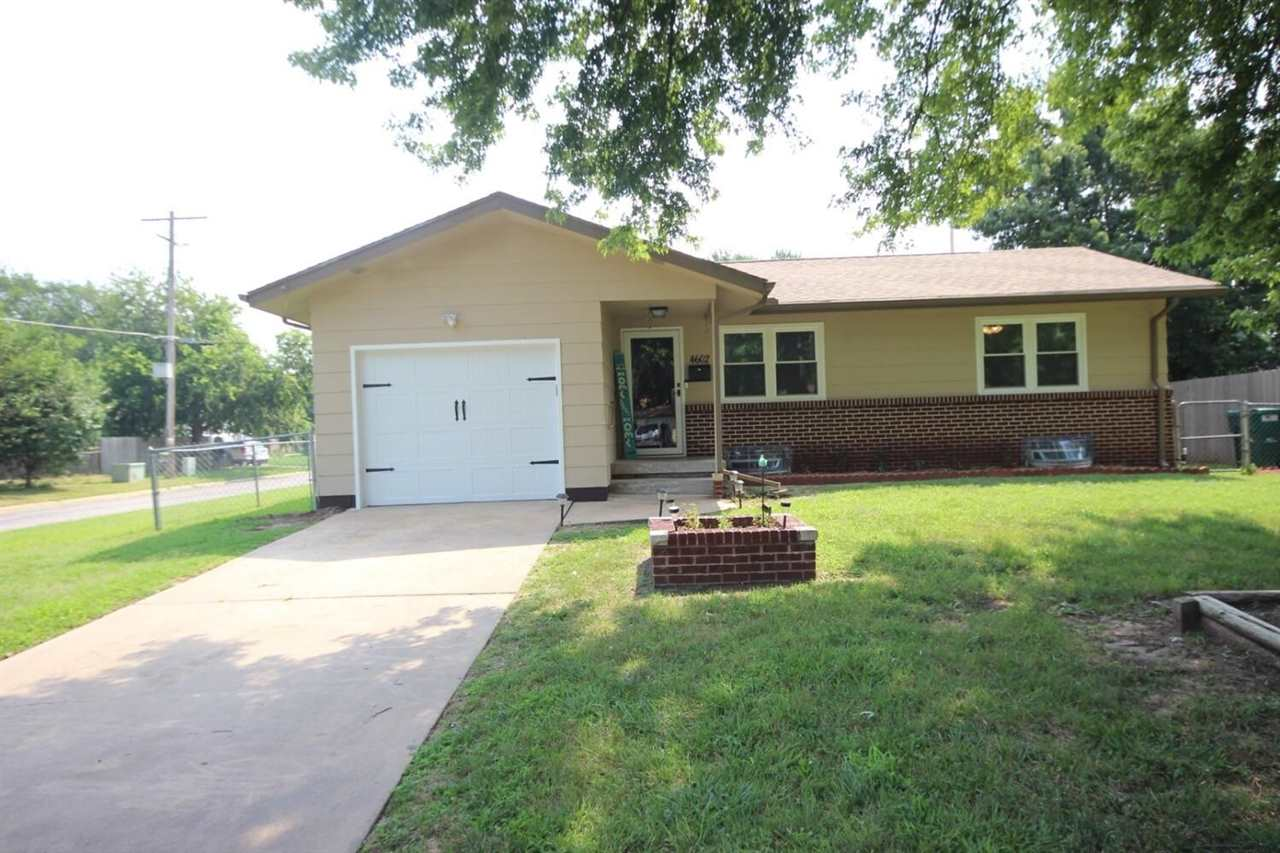 Welcome to this beautifully remodeled home on a nice corner lot. This house has 3 bedroom, 1 bath an