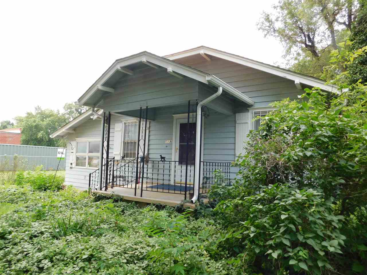 Bungalow,(2) bedroom (1) bath with all appliances staying including washer and gas dryer. Home has a