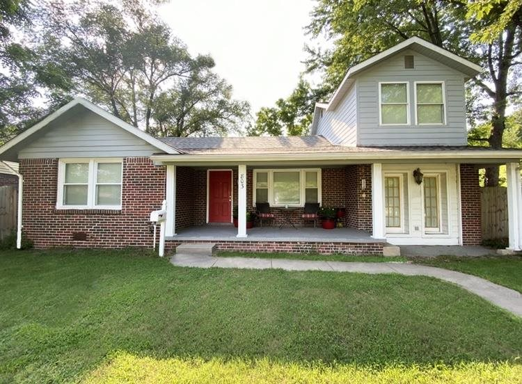 Adorable family home with too many updates to list!  Recessed can lighting, surround sound, and hard