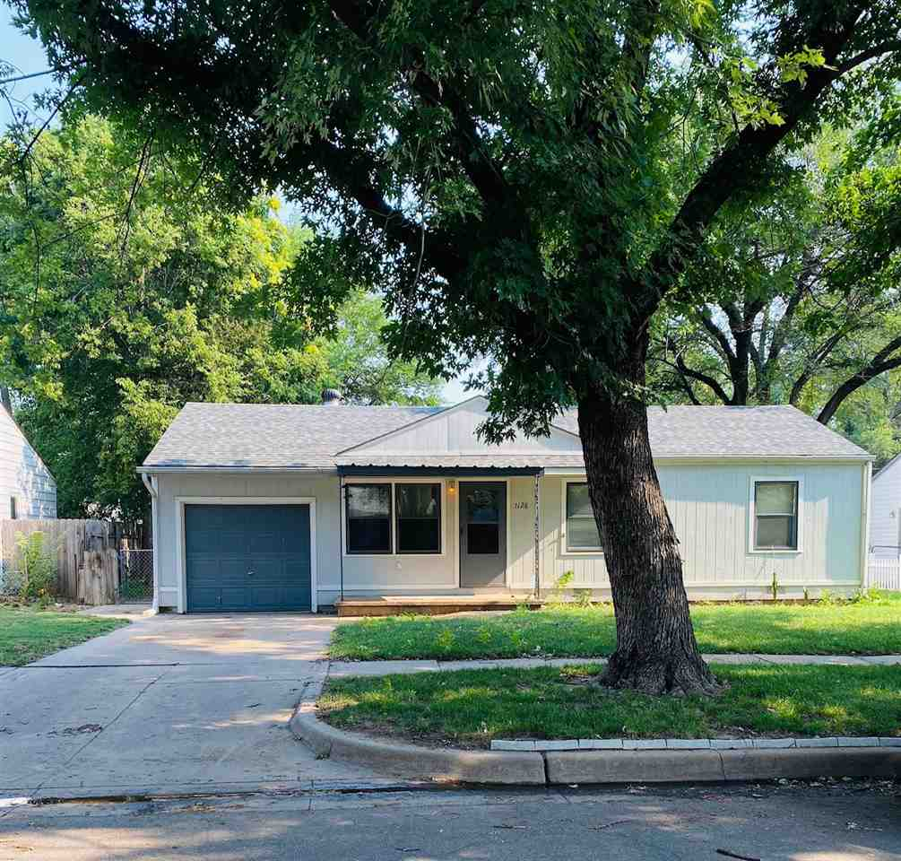 Very cute move in ready three bedroom home with LARGE fenced in backyard. This house has been freshl