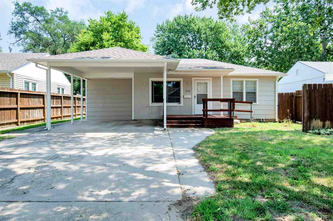 Did you say Riverside?  This adorable, well cared for ranch has all new flooring and is ready for it