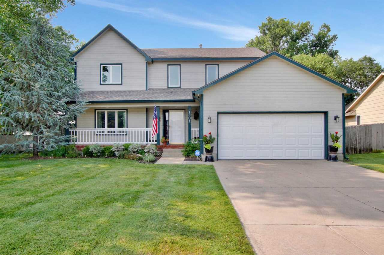Welcome home to this wonderfully maintained home located in the sought after Maize South school dist