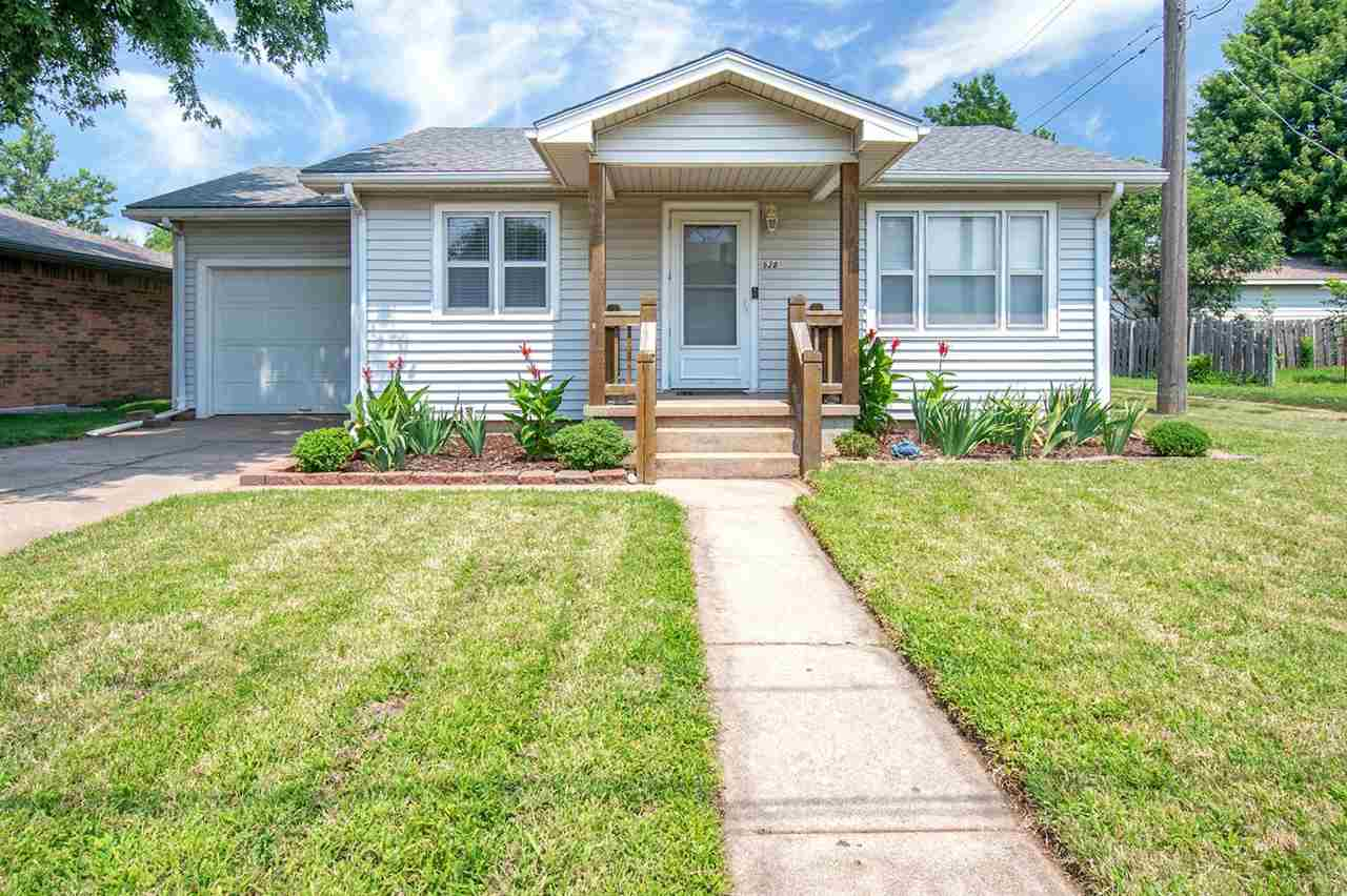 Super cute 2 bedroom, 1 bath home in Colwich! All appliances stay in the kitchen and you will love t