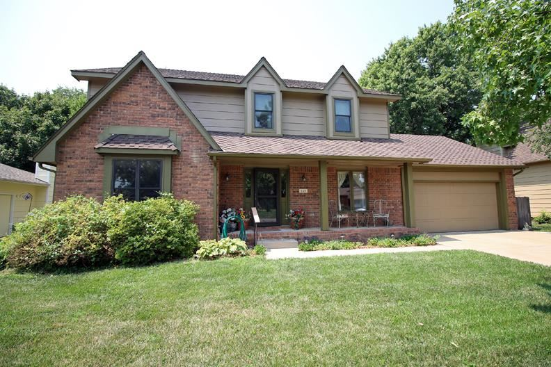 Come take a look at this two story, 5+ bedroom, 2 full and 2 half bath home in an established West s