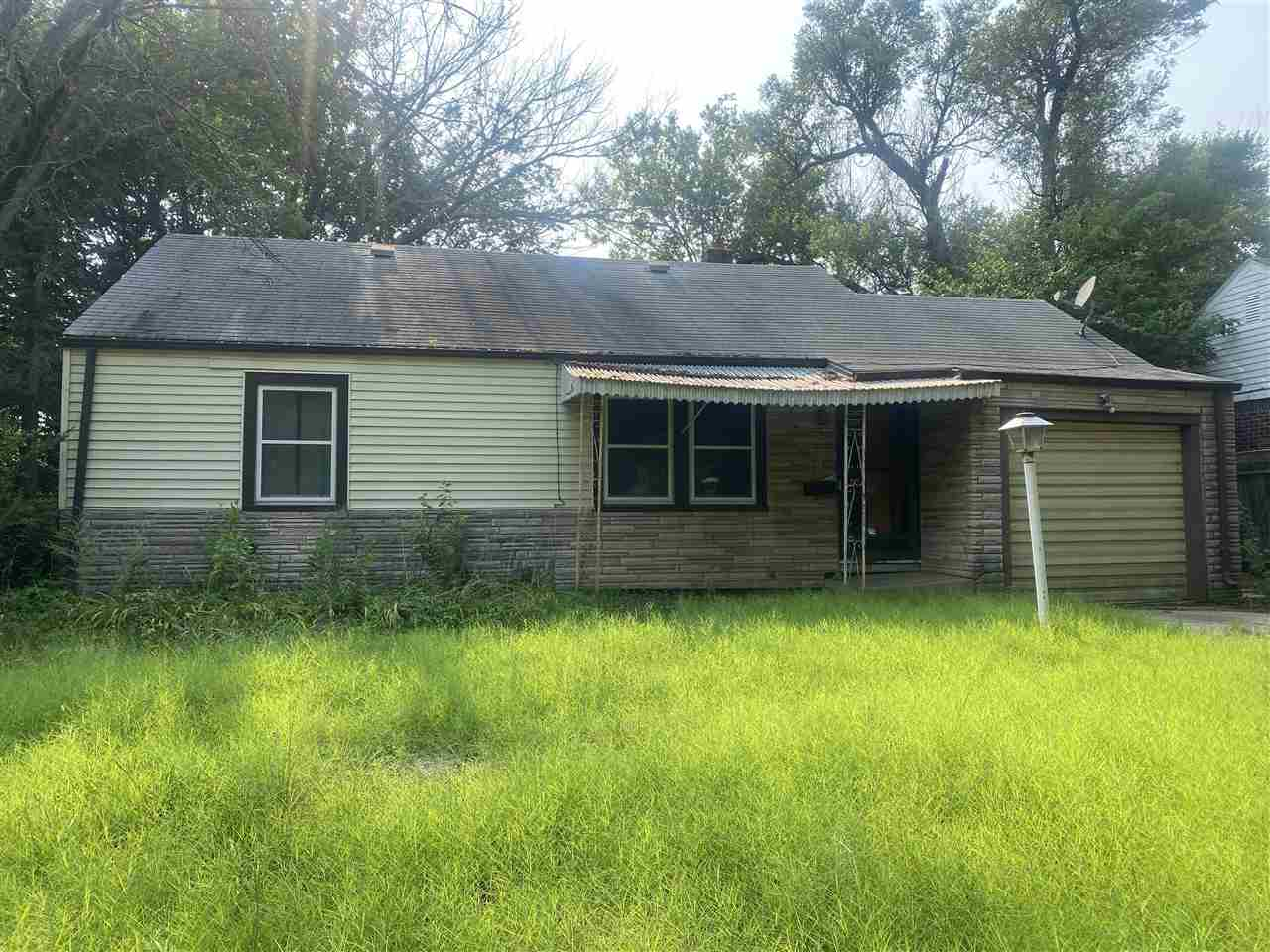 Owner carry option available...Investment opportunity, exterior includes covered front porch, one ca