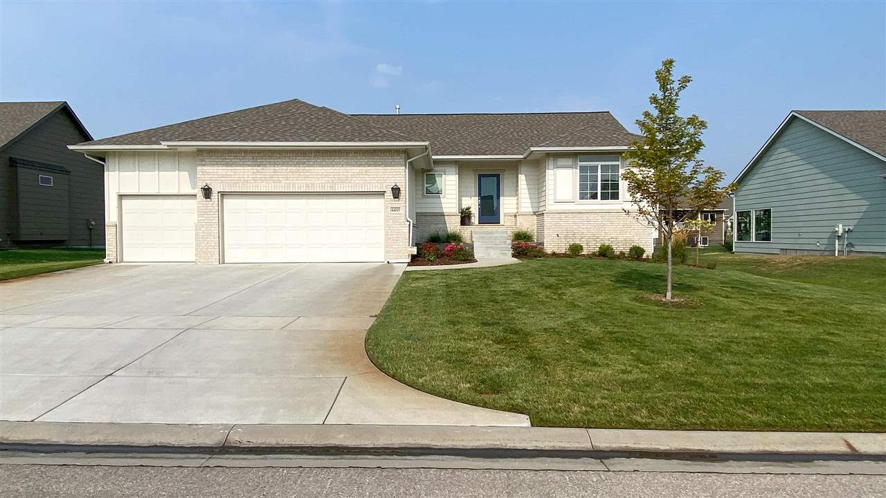 Come see this home in one of the hottest subdivisions in West Wichita Edge Water. This 3 bed 2 bath