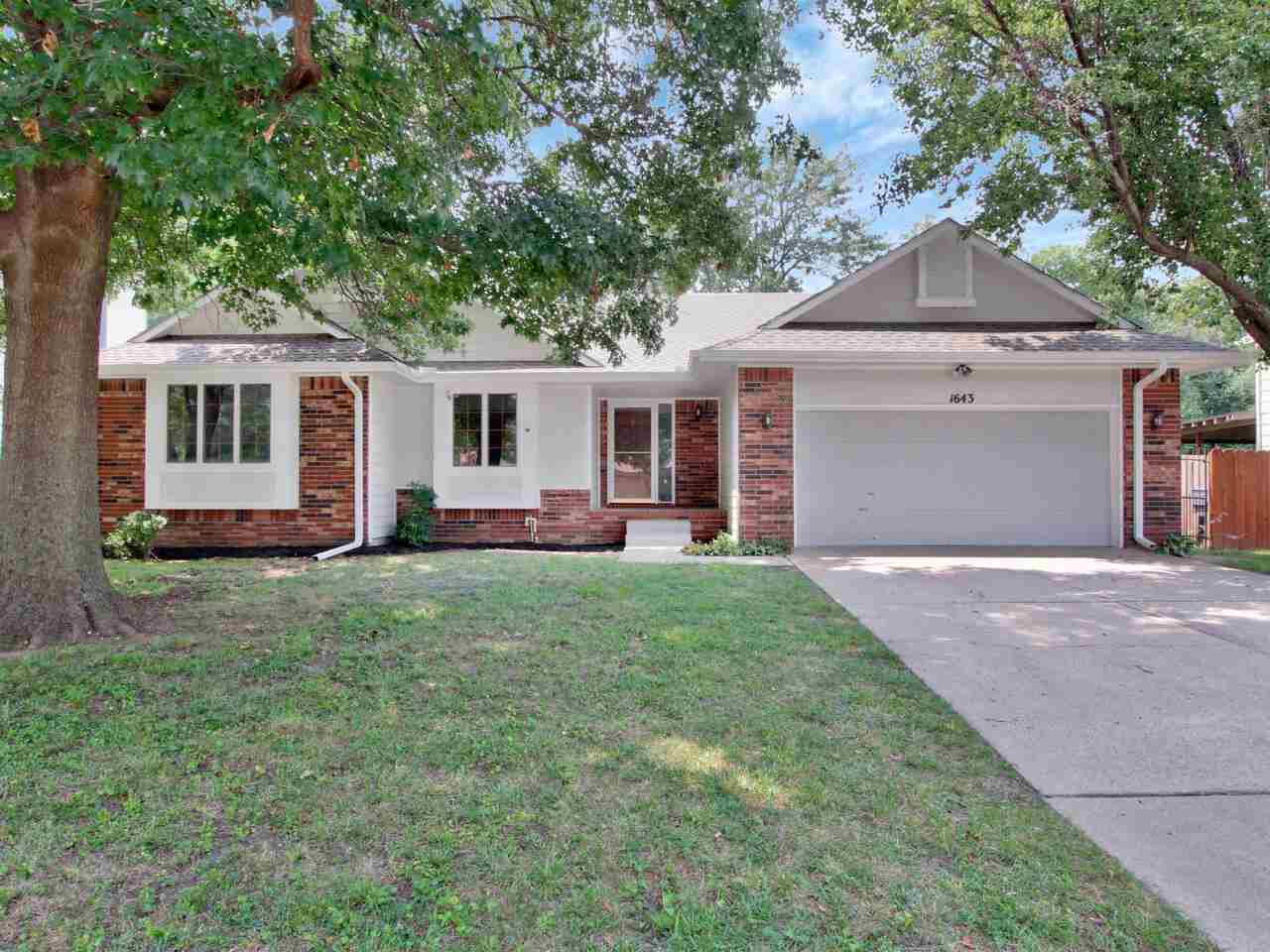 Ranch home with an open floor plan. All new flooring throughout, All new interior paint, new bathroo