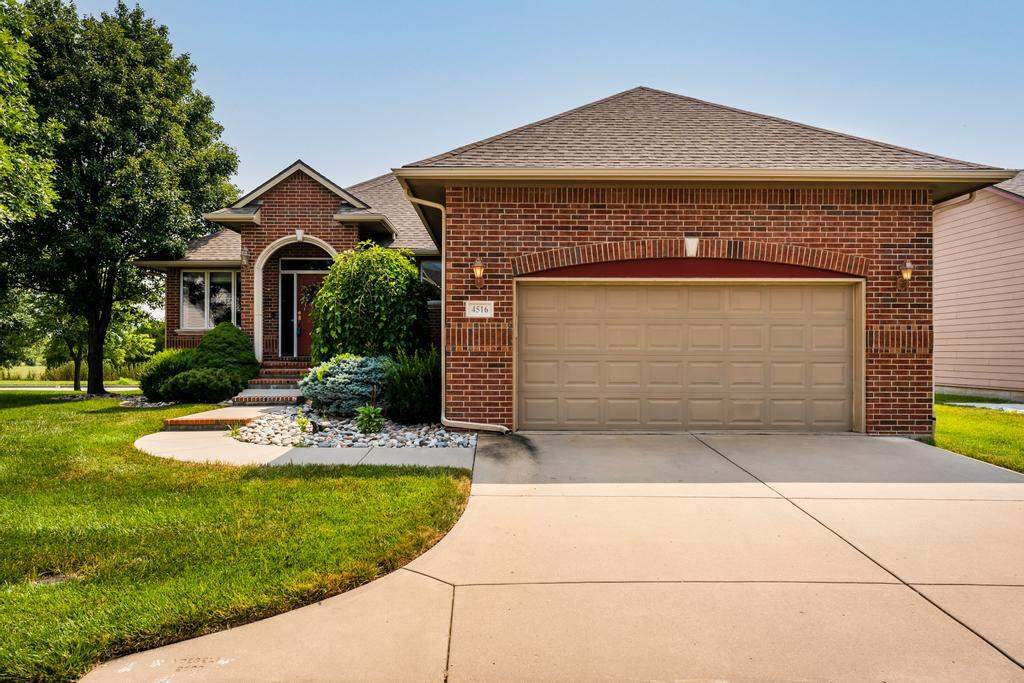 Looking for a little less exterior to take care of? Welcome home to this well-maintained, quality-bu