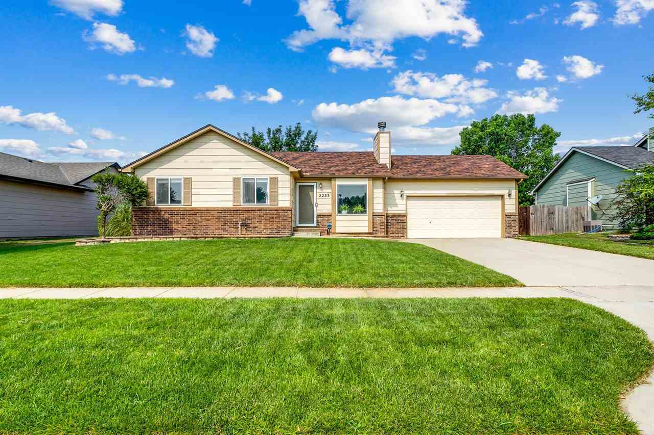 This one is a must see! Goddard schools with Wichita taxes! No specials and no HOA! It has newly upd