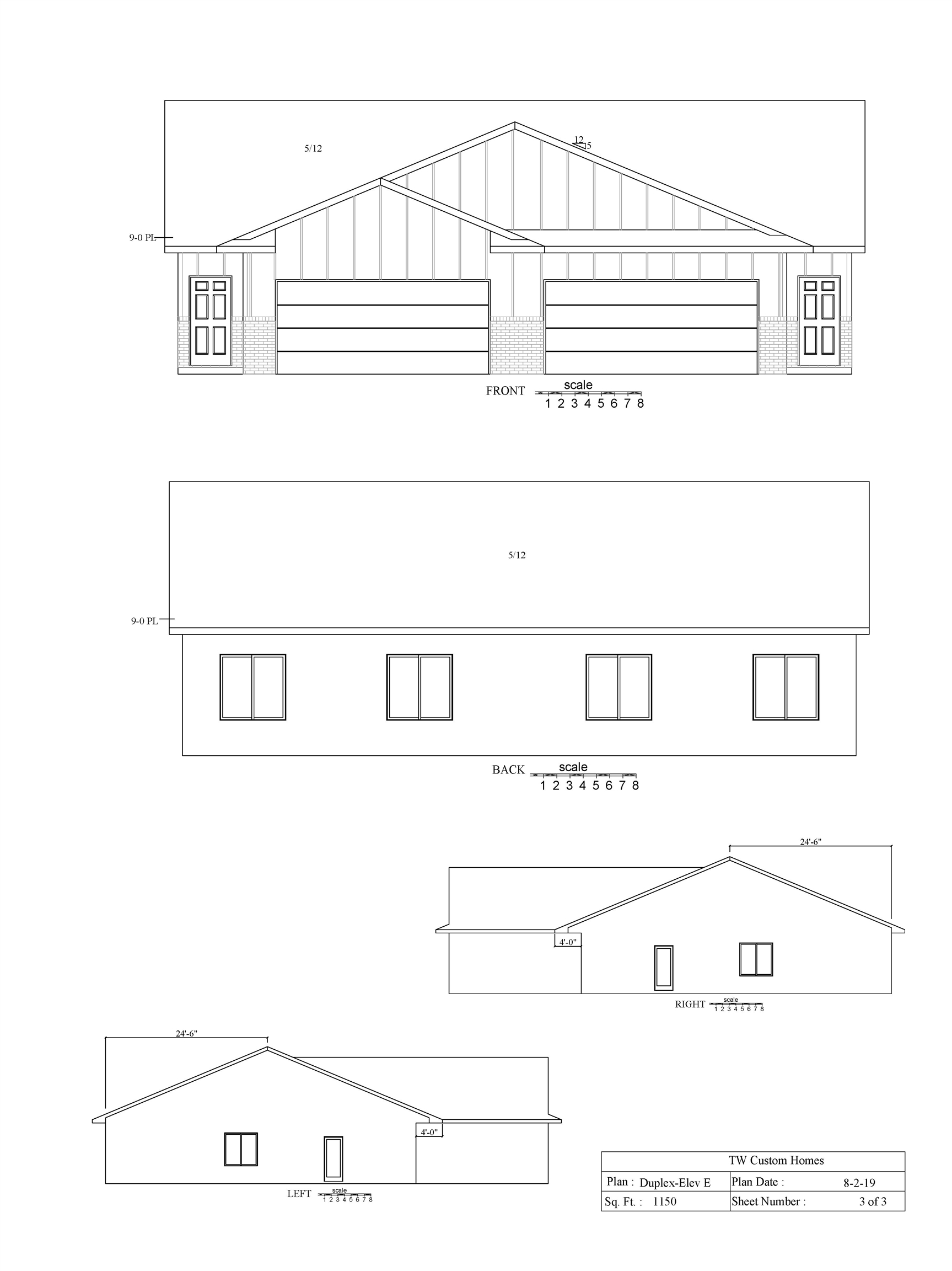 New 3 bed, 2 bath 2 car garage with White cabinetry and granite in kitchen and bath. Luxury vinyl fl