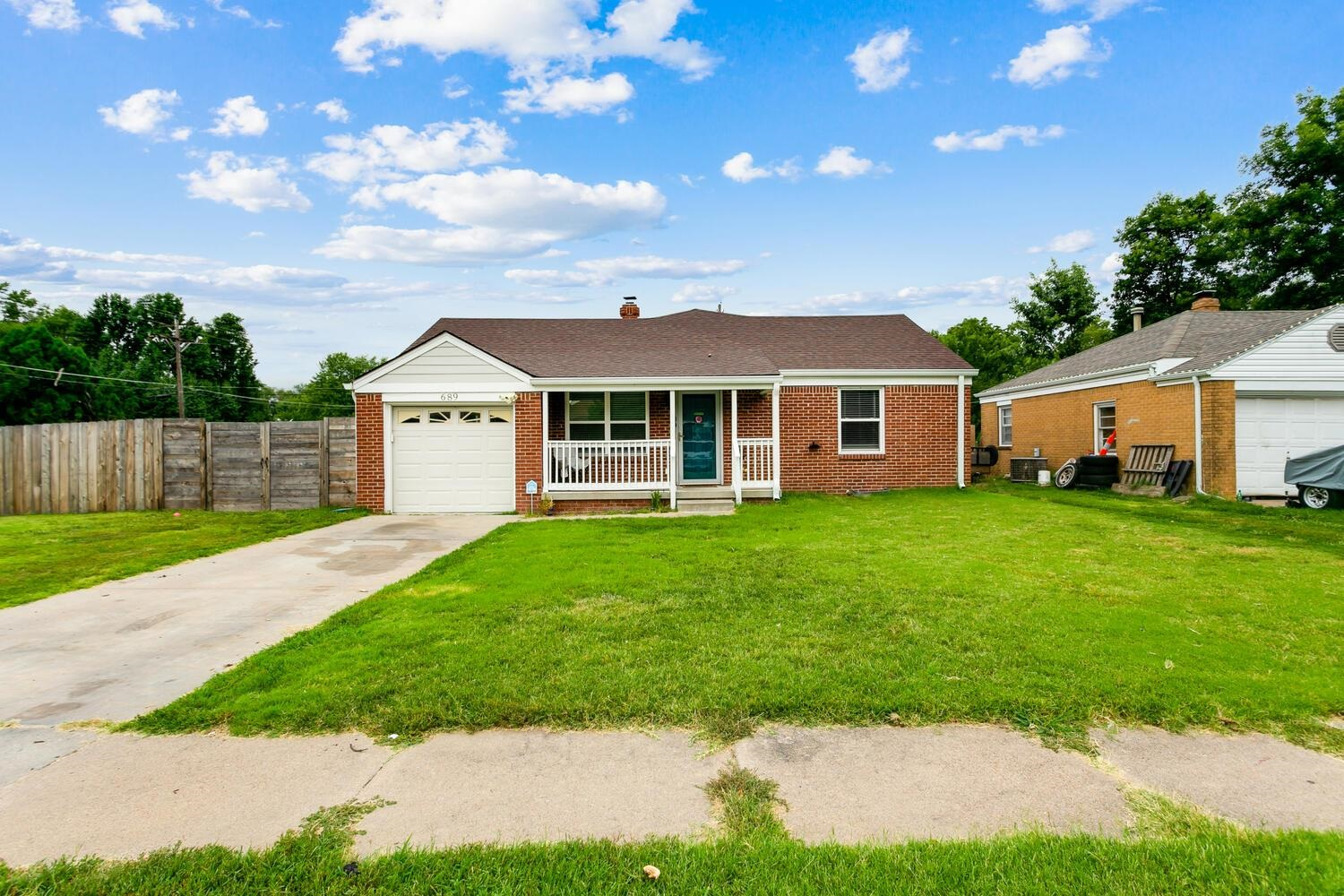 BACK ON MARKET!!! Buyer Financing fell through!!!   Welcome home to this all brick ranch located on
