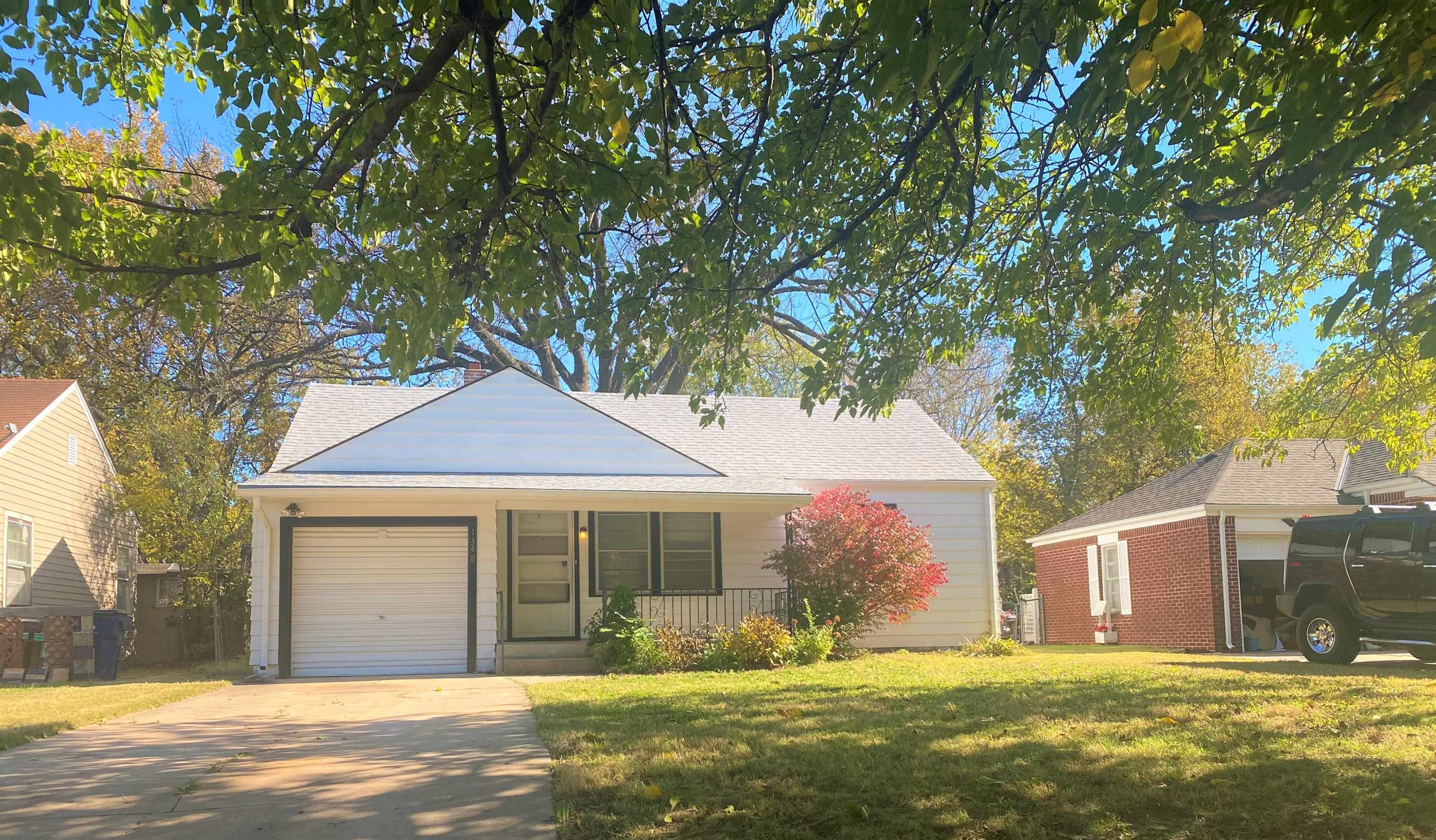 A great investment property or smaller home to give some TLC! 2 bedrooms on the main level, one bath