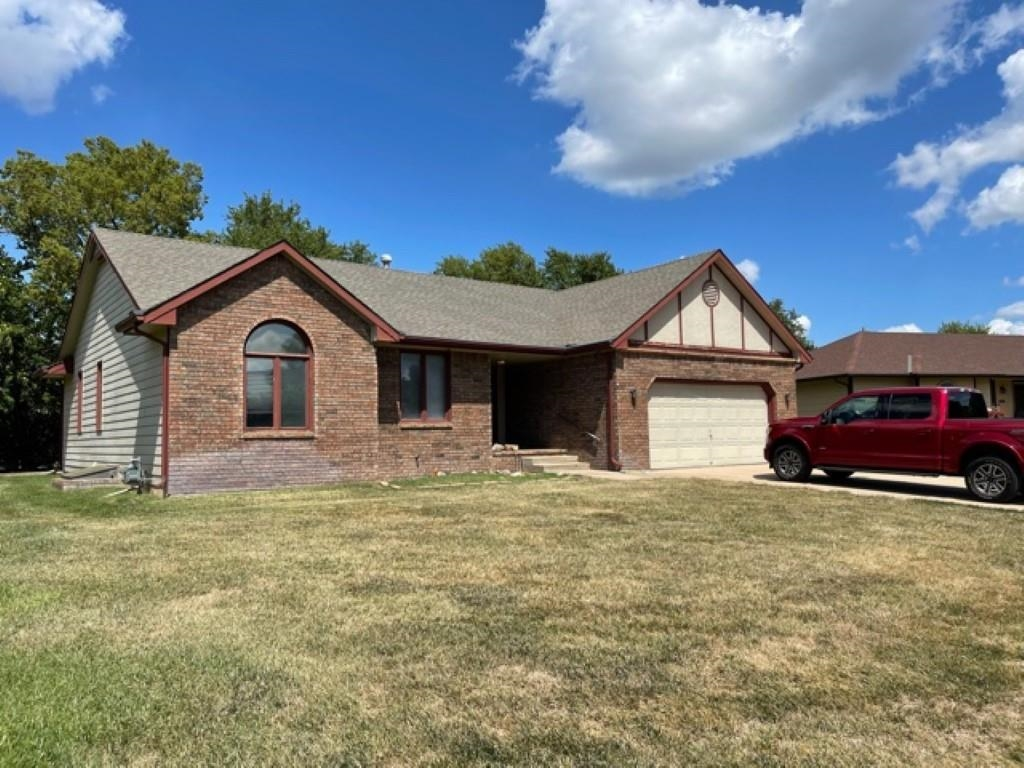 """4 bedroom brick ranch with 3 baths and a finished basement plus a 2-car attached garage. This property is being sold """"AS IS"""" - no repairs will be made."""