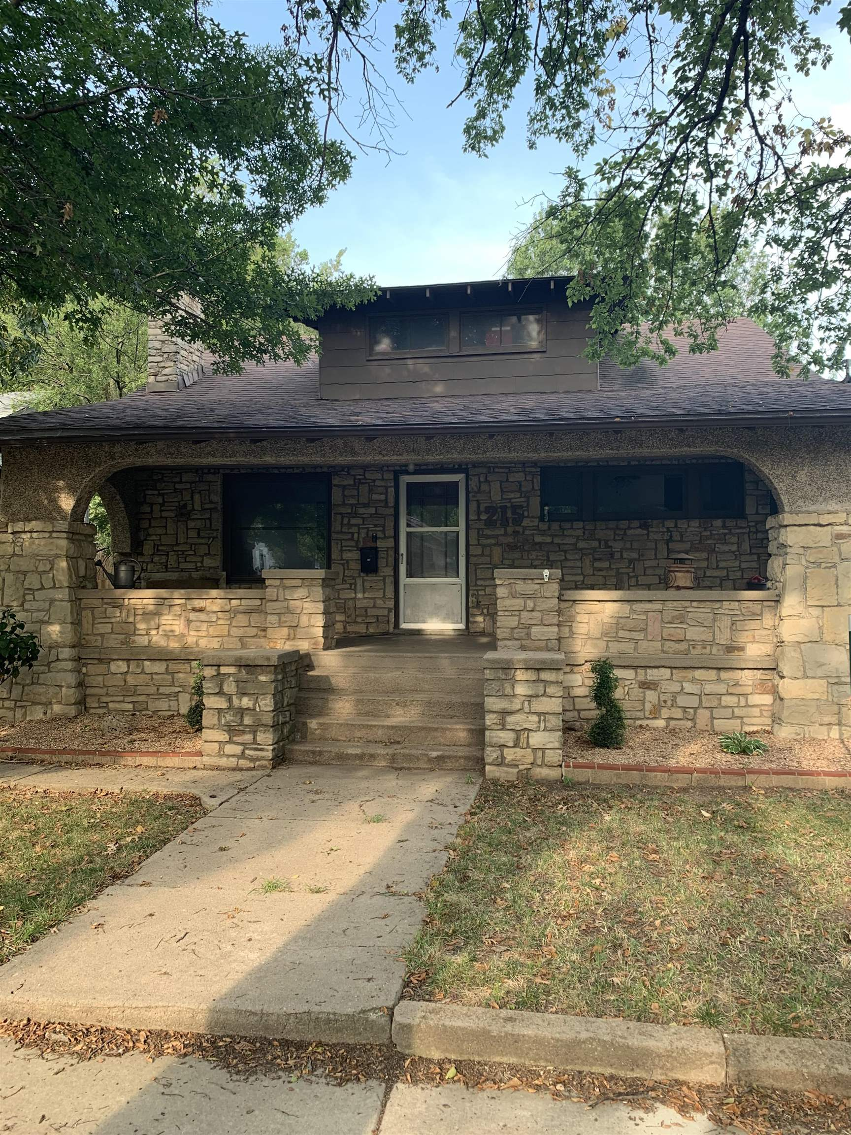 Come see this lovely stone home that's back on the market because financing fell through - It's nest