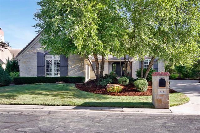 For Sale: 416 E FLINT HILLS NATIONAL CT, Andover KS