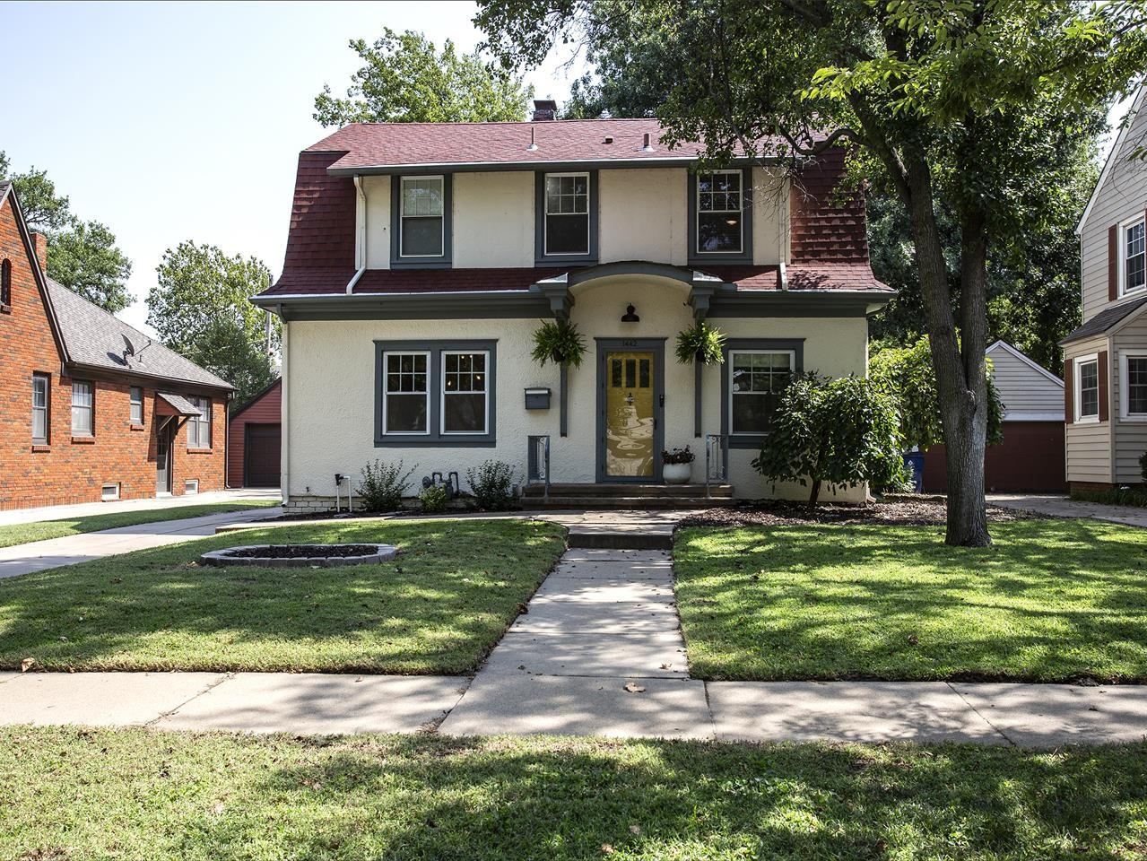 Showings to begin Wednesday Sept 15. Check out this super cute home on a lovely street in Riverside!