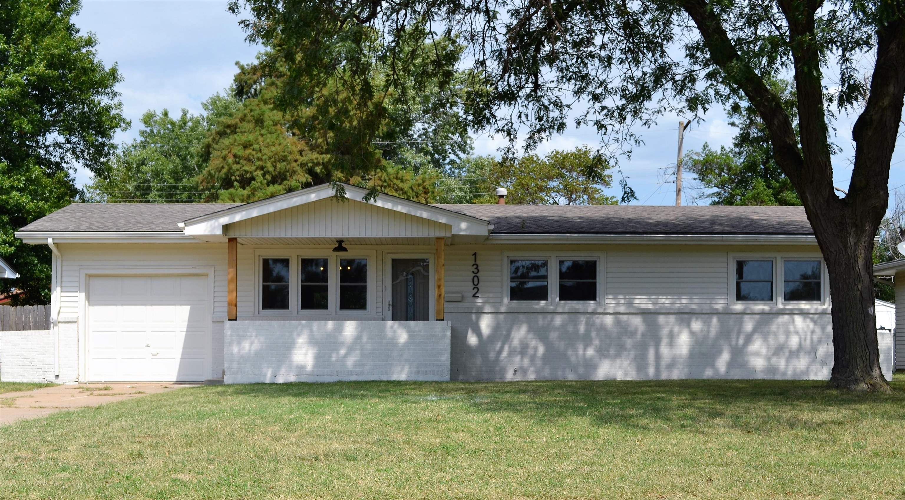 Completely remodeled and ready to move in! This is a great updated home in the heart of Wichita with