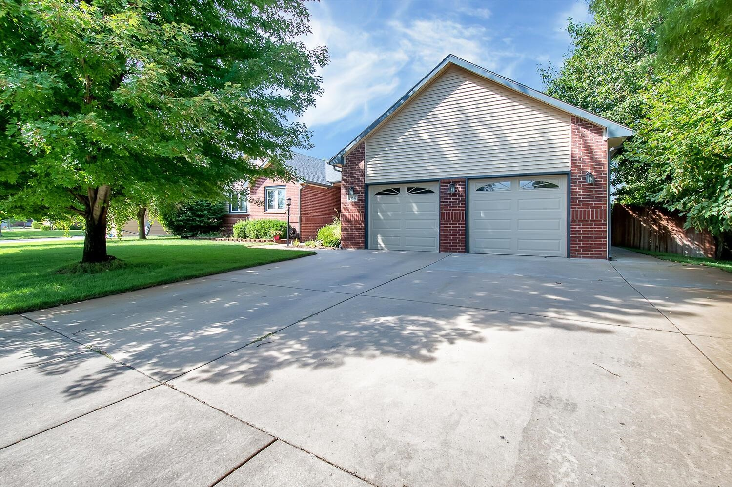 Run, don't walk to this home. 4 bedrooms, 3.5 baths and 2 car garage on a large corner lot just sout