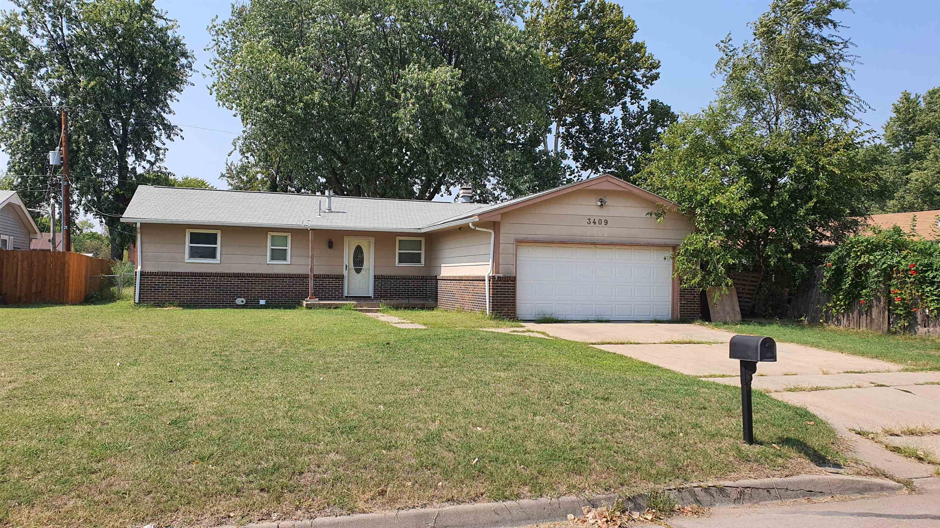 Investor and/or Sweat Equity Opportunity!! 3 bedrooms + additional bonus room. 2.5 baths, 2-car gara