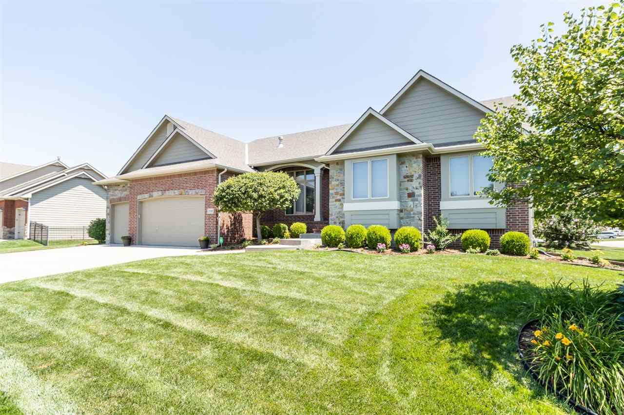 One of the most sought-after neighborhoods in Wichita, this beautiful Fox Ridge home is located in t