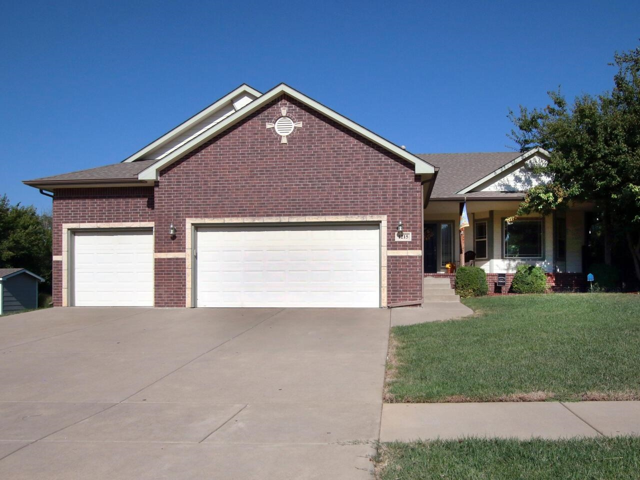 Wonderful Derby Park Hill home with 5 bedrooms, 3 baths and 3 car garage. An office/bonus room or no
