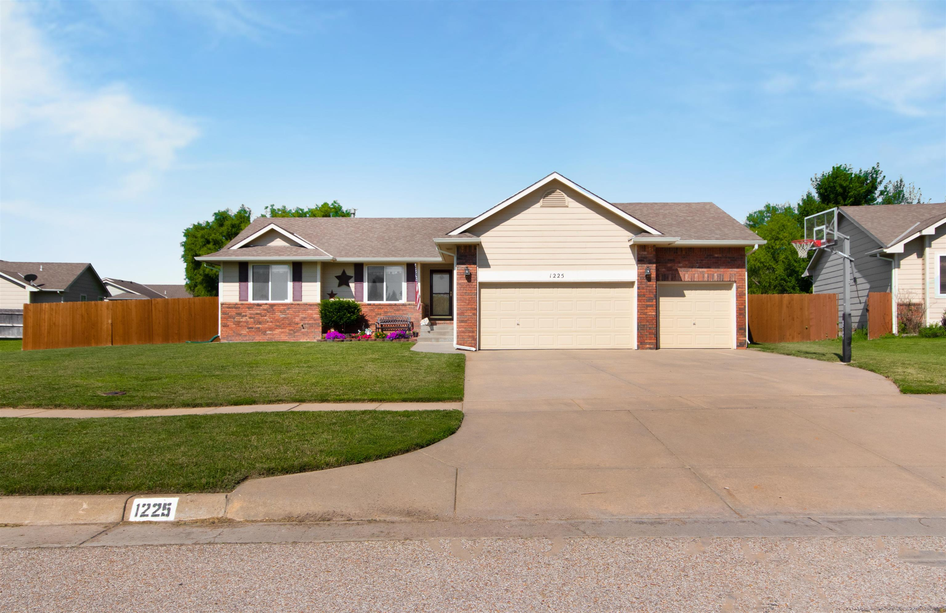 Come home to this 5 bedroom, 3 bathroom home in a quiet neighborhood in Derby. Conveniently located