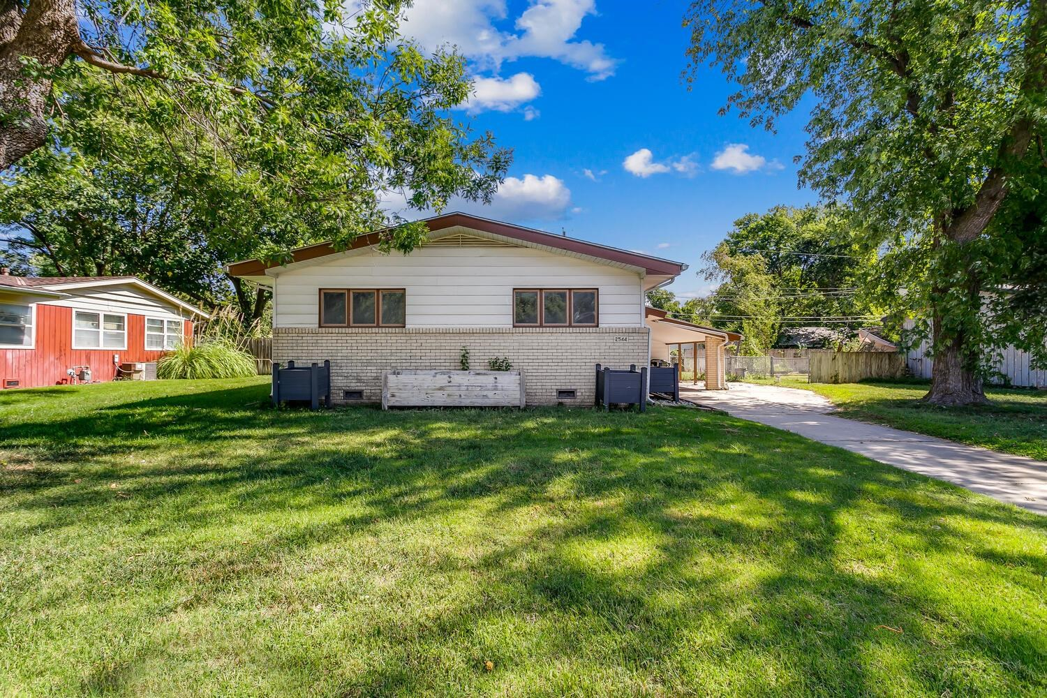 Charming home tucked away on a dead end street. Home has beautilful refinished wood floors, neutral