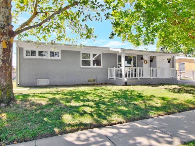 Welcome Home to this beautifully updated ranch home.  Imagine enjoying the fresh breeze on this ador