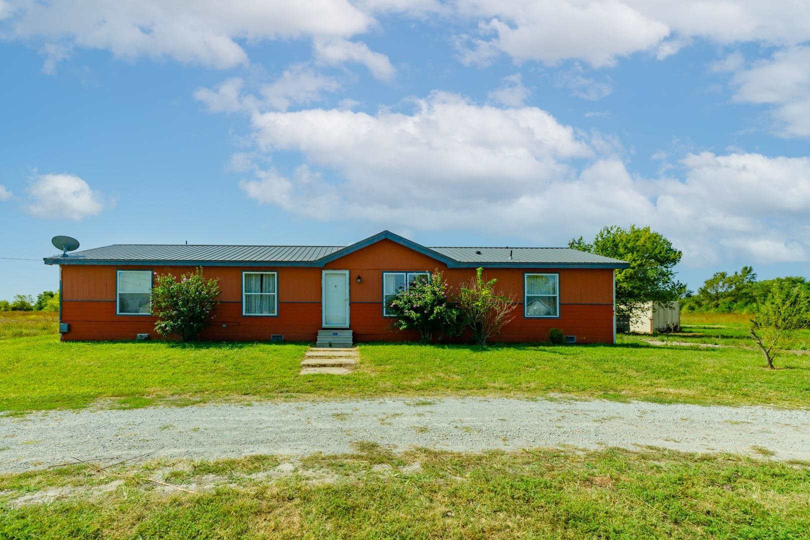 Are you looking for acreage and privacy close to Valley Center? This is your home! This beautiful 4.