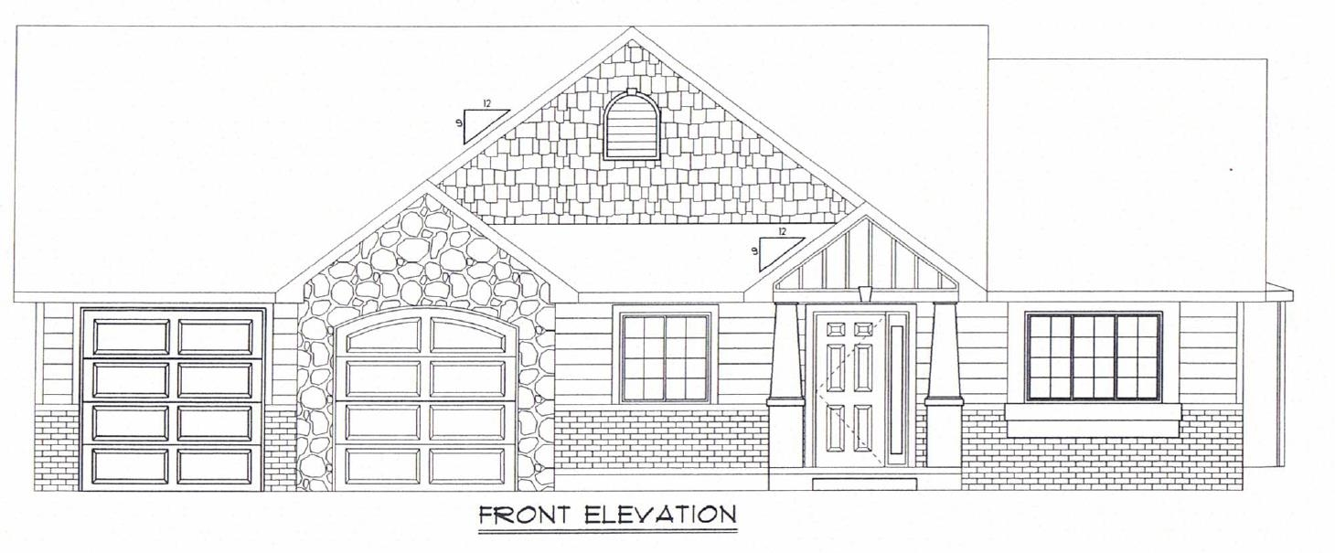 Come this this BRAND NEW home in a BRAND NEW development! The main floor features and open floorplan