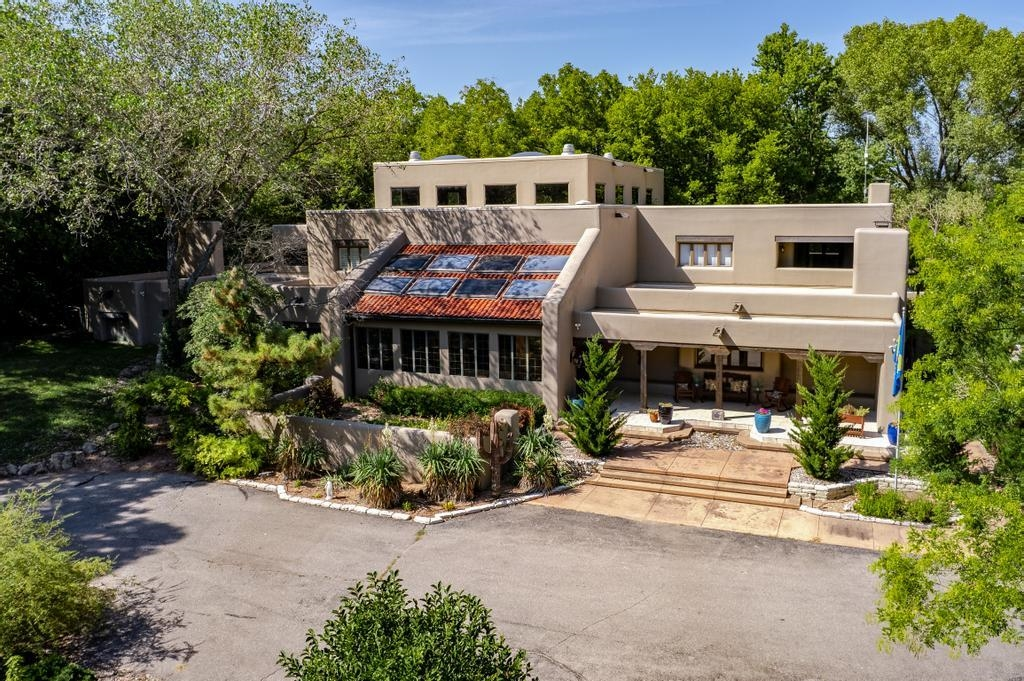 Welcome to your slice of paradise in South Central Kansas. This exceptional one-of-a-kind estate sit