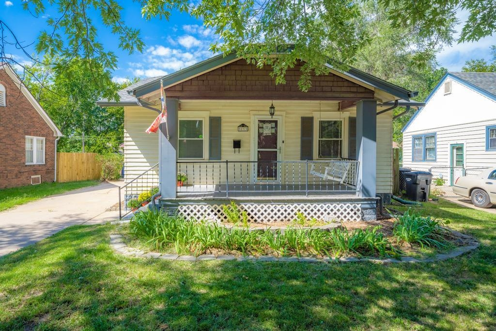 LOCATED JUST 1/2 BLOCK FROM SCHWEITER PARK, THIS DARLING BUNGLOW HAS BEEN COMPLETED REMODELED & UPDA