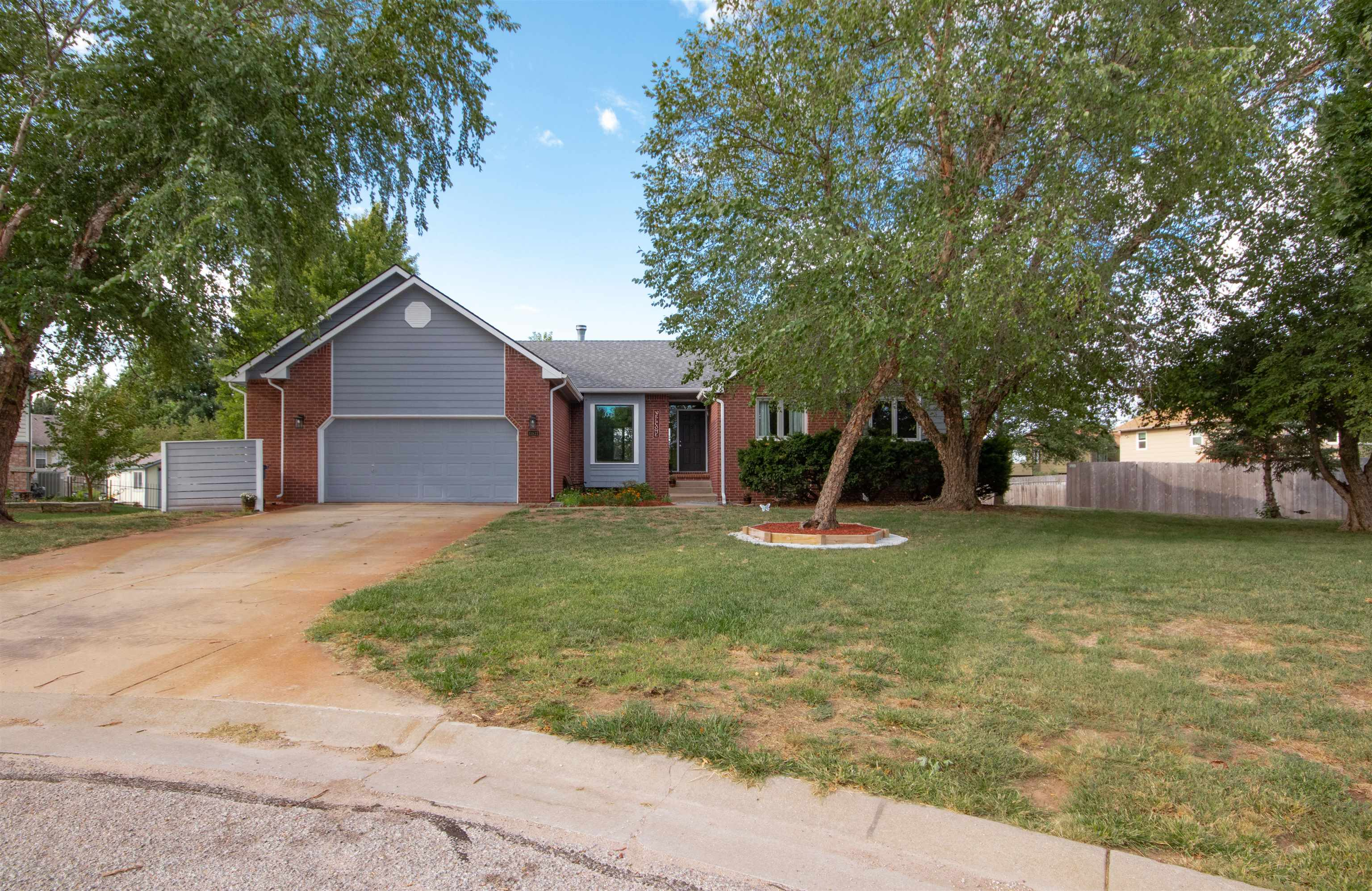 Schedule now to see this home in west Wichita, in the Goddard school district.  This home is  on a q