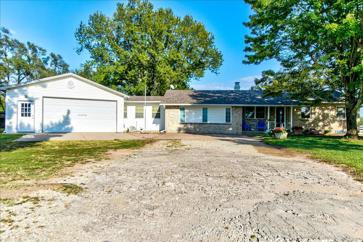 Peaceful Countryside Living on a short 3 acre lot. This 4 bedroom, 1.5 bath home has been re-done in