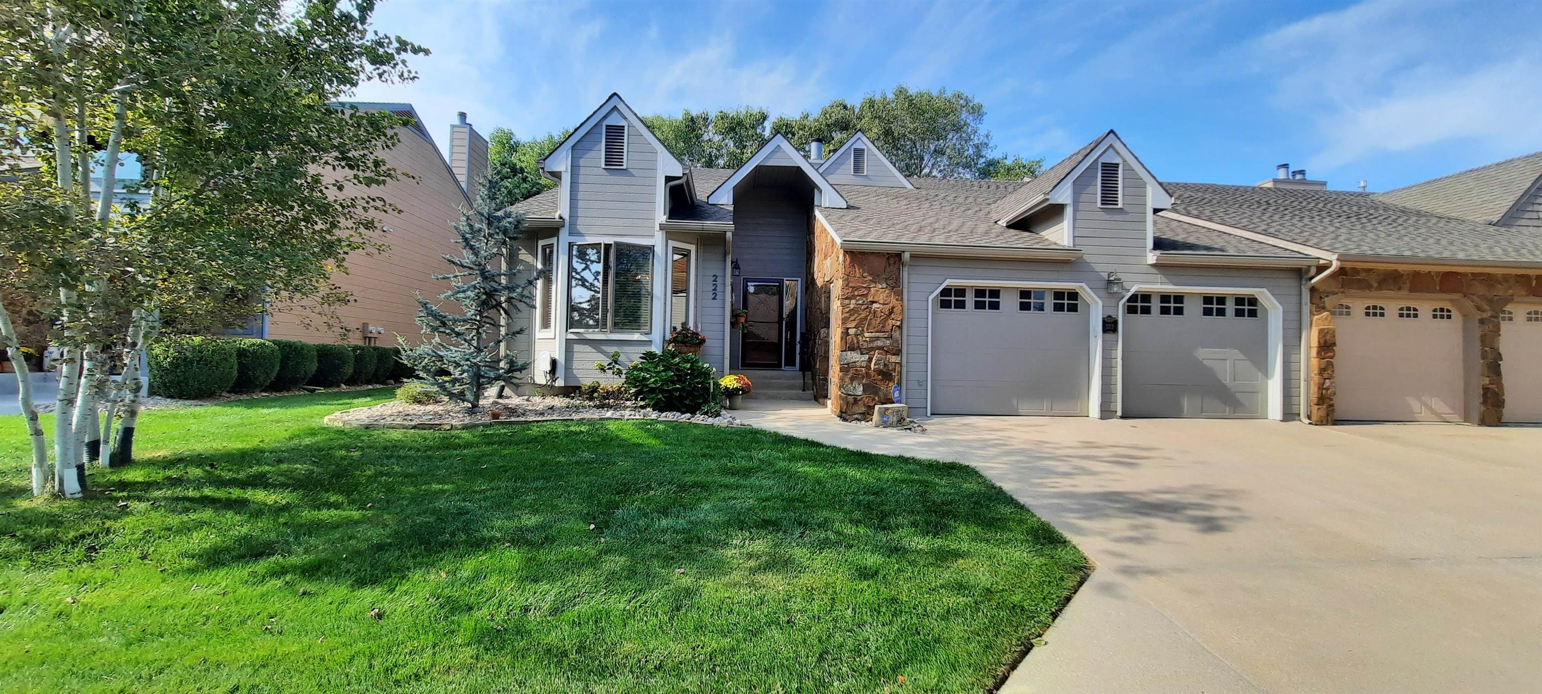 Patio home living without the cost! Come see this amazing home in a gated community in desirable nor