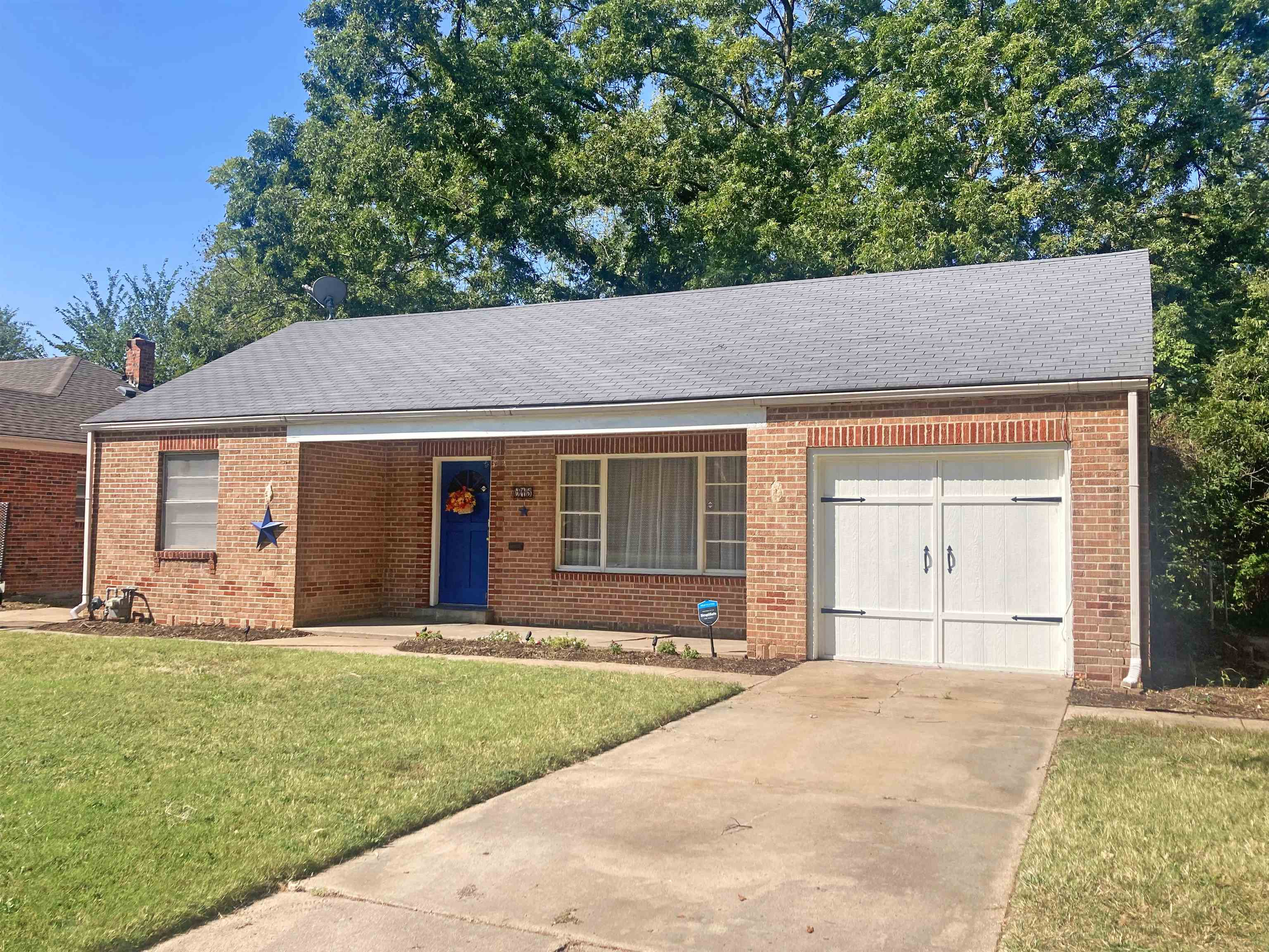 Absolutely Charming, Full Brick 1163 SqFt Ranch features concrete construction with concrete floor,