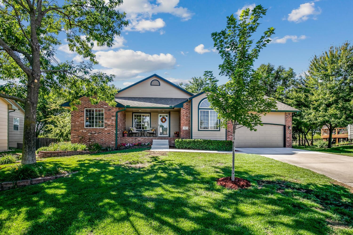 This custom built/one owner home by Warren Brothers construction sits tucked back on a cul-de-sac lot at the back of this Andover subdivision with no special taxes! The sellers love the privacy of the lot with no neighbors behind then and established trees to enjoy. As you walk up, you might be fooled to think this is a small garage but this is an oversized 19.8x30 garagewith storage above that can easily fit cars, toys, workshop, etc. As you enter the home, you will see how well the sellers have taken care of their home and enjoy the split bedroom style of the first floor. The sellers built this home to always be enjoying the privacy of the backyard and natural light. From the 2 eating areas with one set just like a sunroom off the kitchen (which would also make a great second living space), recently updated kitchen with granite countertops, pantry space near garage, newer carpet on main floor, new roof 2018 with high impact shingles (many times these give a great insurance discount), new concrete steps, and so much more. The sellers even had outlets for exterior lights installed in the eaves for holiday decorating with a quick flip of a switch inside the home. There are lots of areas to entertain in the home but the space that was perfect was the large family room with gas fireplace in the viewoutbasement. with 5 total bedrooms and 3 baths, and oversized garage, this home is just waiting for its new owners to enjoy in Andover.