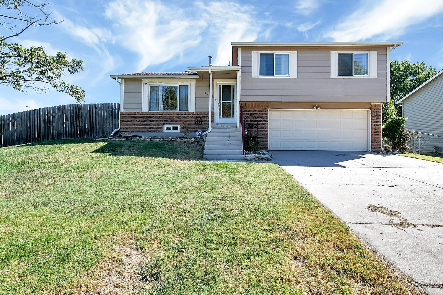 Welcome Home! This home has all the wants and needs of a family or the first time buyer. The main le