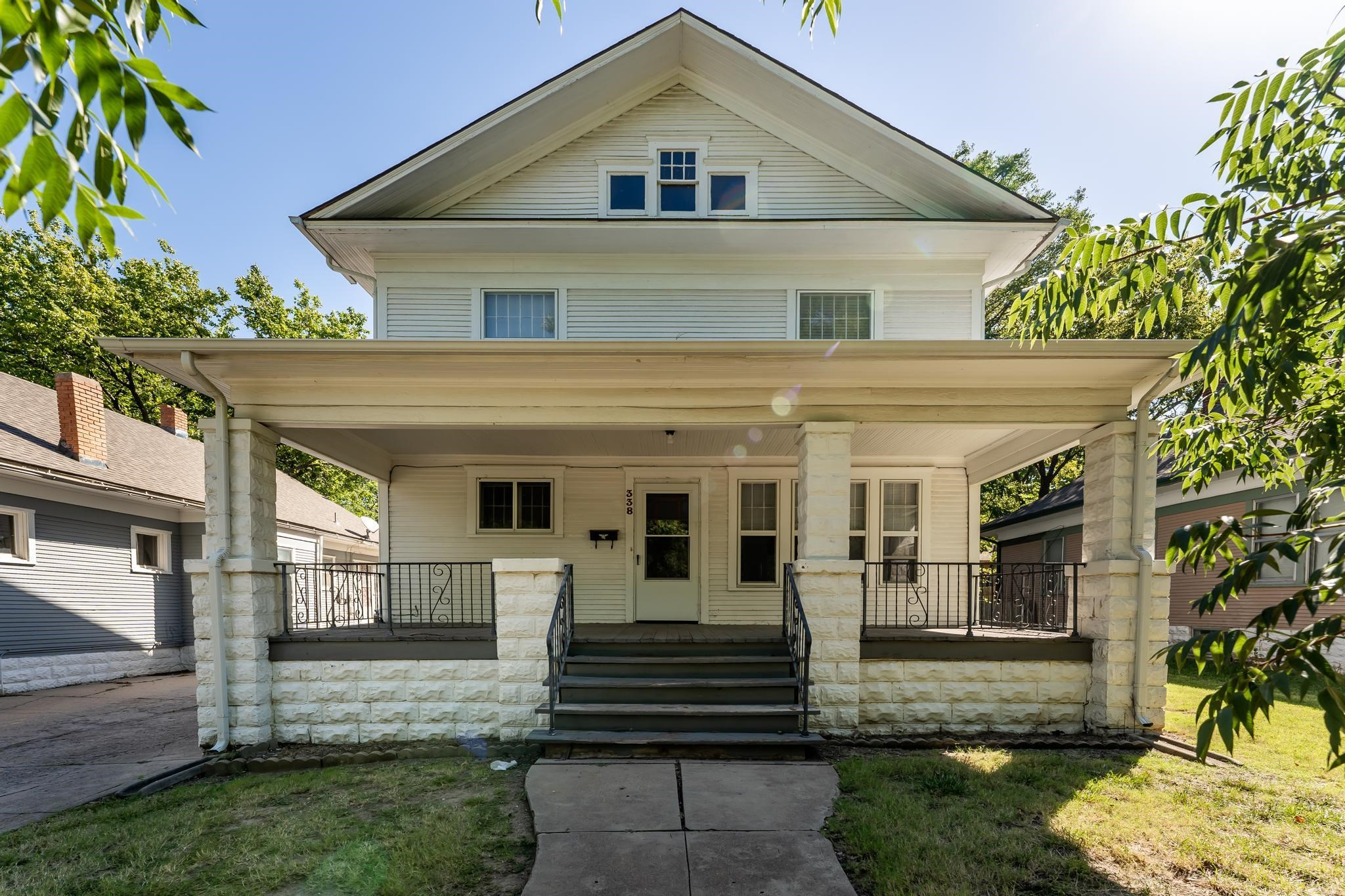 Cute College Hill home with Mother-In-Law quarters located in a separate house in the back. Located