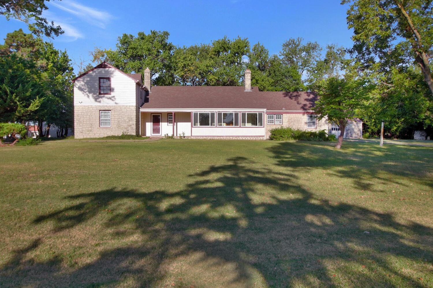 Location, location, location. This beautiful home is nestled on a nice 1.40 acre lot tucked away beh