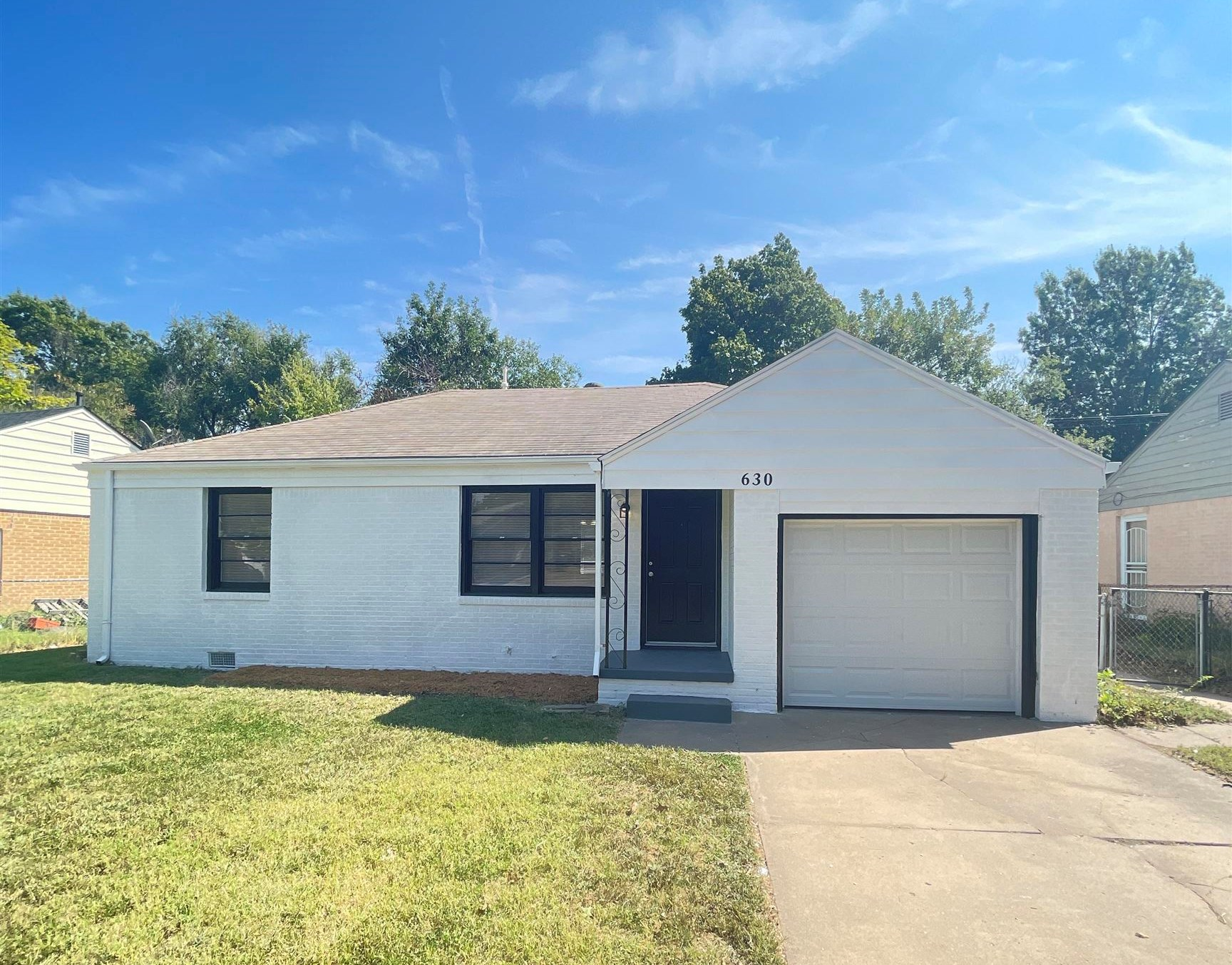 Newly renovated home in desirable East Wichita. Featuring a tile bathroom, new flooring, fresh paint