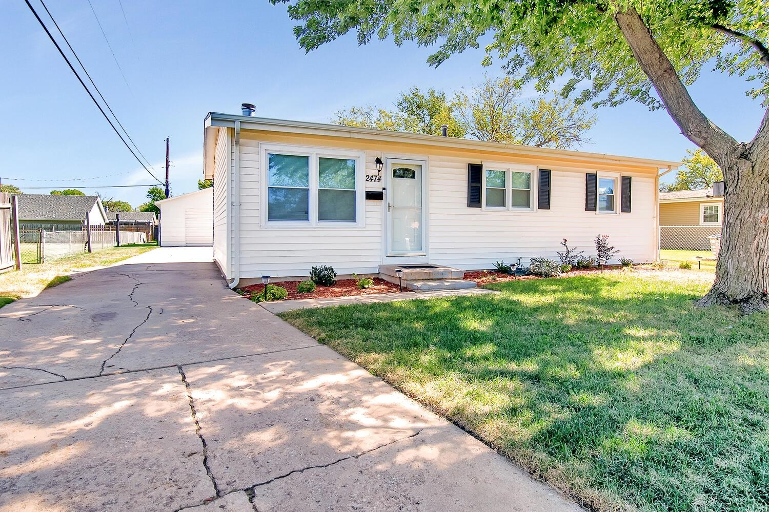 Cute three bedroom one bath home close to shopping, food, highways and a short walk or drive from OJ
