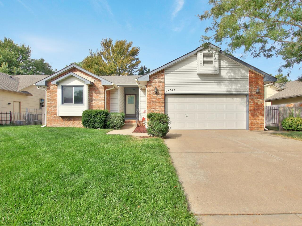 Charming home in Chadsworth addition in NW Wichita.  Permanent siding, new roof in 2021 and new HVAC